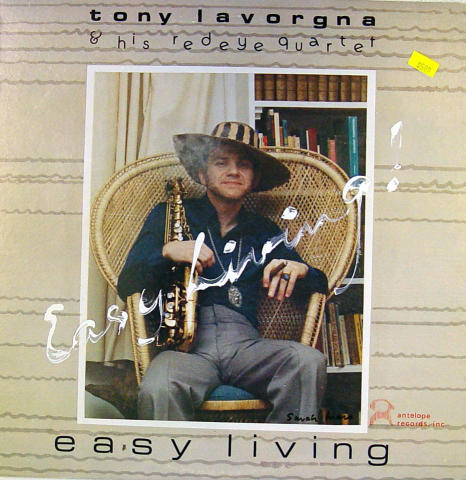"Tony Lavorgna & His Redeye Quartet Vinyl 12"""