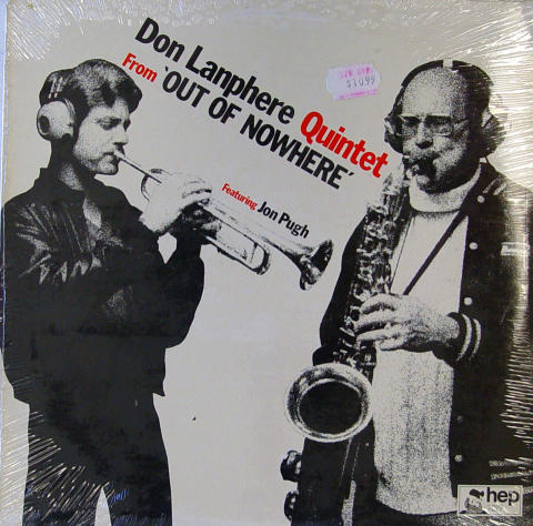 "Don Lanphere Quintet Vinyl 12"""