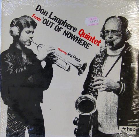 "Don Lanphere Quintet Vinyl 12"" (New)"