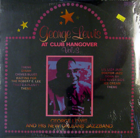 """George Lewis And His New Orleans Jazz Band Vinyl 12"""""""