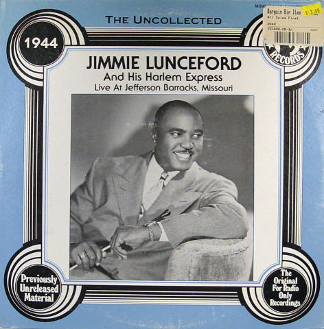 Jimmie Lunceford And His Harlem Express Vinyl 12""