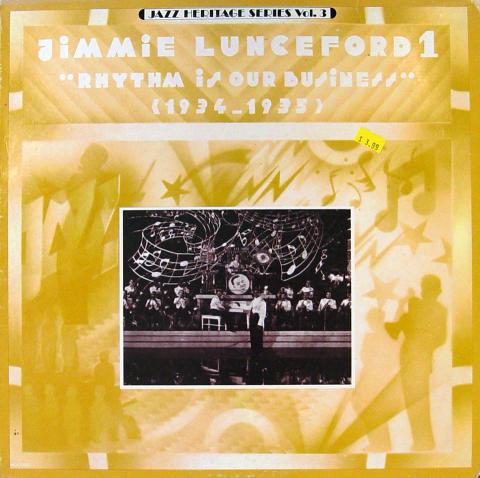 """Jimmie Lunceford 1 Vinyl 12"""""""
