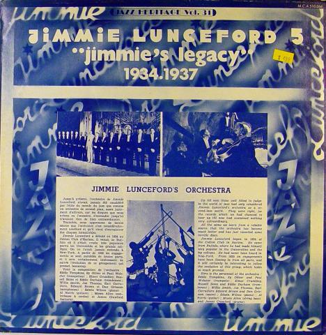 """Jimmie Lunceford 5 Vinyl 12"""""""