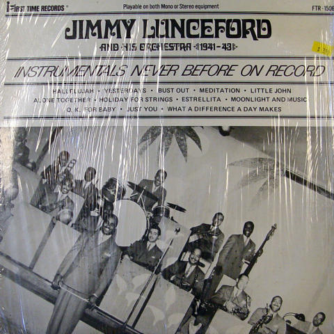 """Jimmy Lunceford and His Orchestra Vinyl 12"""""""