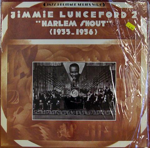 """Jimmie Lunceford 2 Vinyl 12"""""""