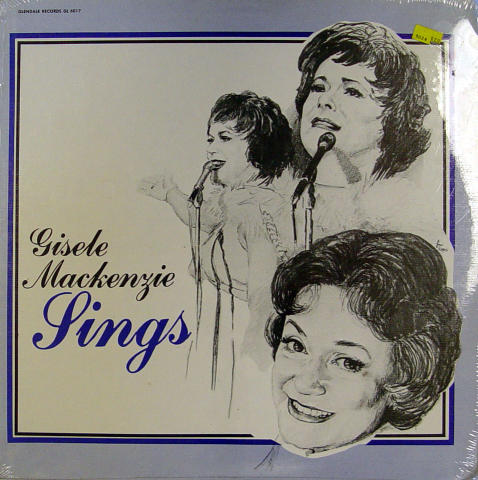 "Gisele MacKenzie Vinyl 12"""