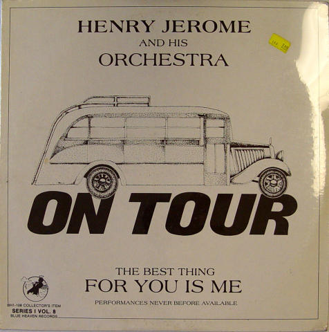 """Henry Jerome And His Orchestra Vinyl 12"""""""