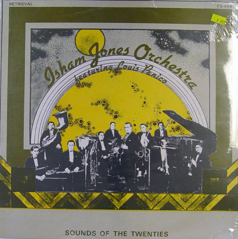 "Isham Jones Orchestra Vinyl 12"""