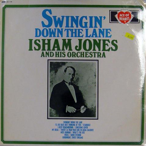 "Isham Jones And His Orchestra Vinyl 12"""