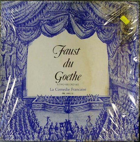 """Johan Wolfgang Van Goethe Vinyl 12"""""""