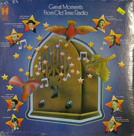 """Great Moments From Old Time Radio Vinyl 12"""""""