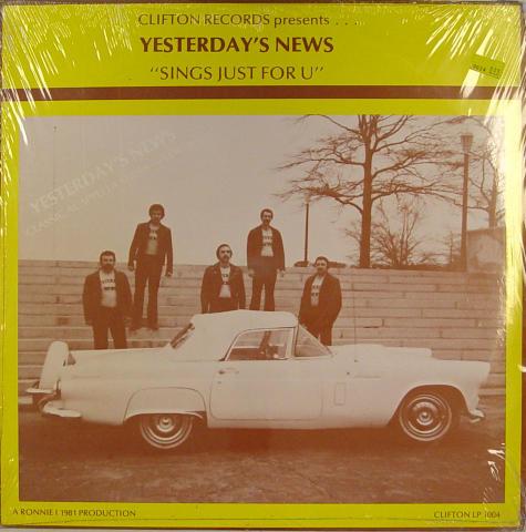 """Yesterday's News Vinyl 12"""""""