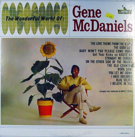 "Gene McDaniels Vinyl 12"""