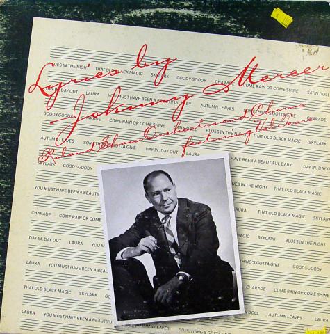 """Johnny Mercer Vinyl 12"""""""
