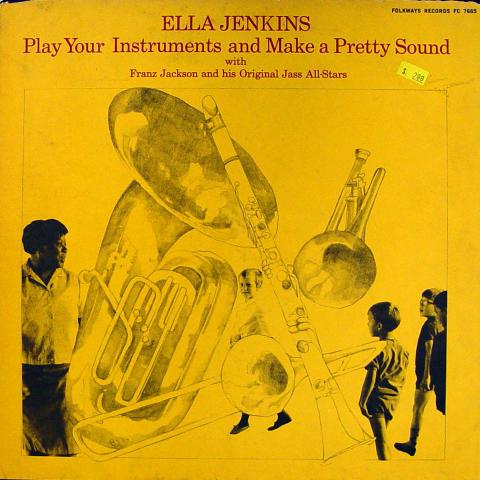 """Ella Jenkins Vinyl 12"""""""
