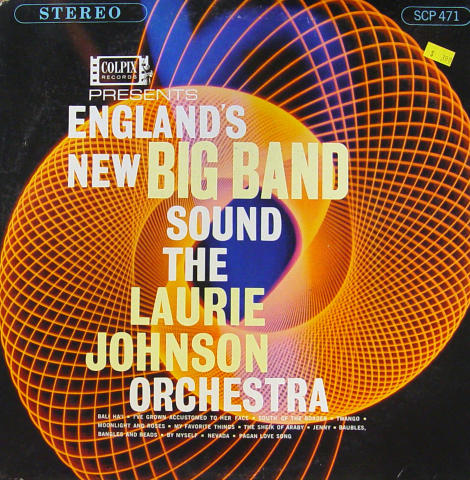 """The Laurie Johnson Orchestra Vinyl 12"""""""