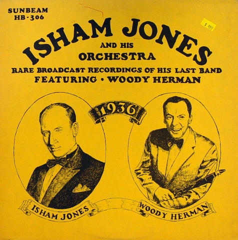 Isham Jones / Woody Herman Vinyl 12""