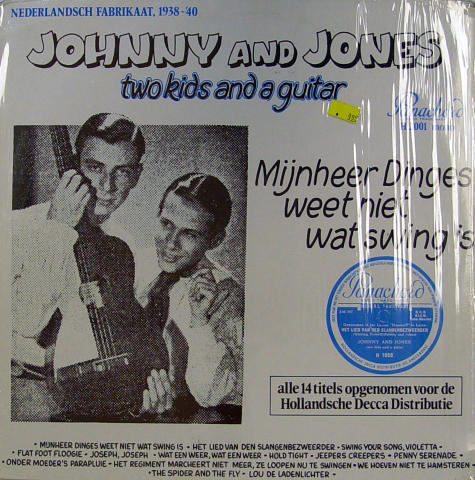 "Johnny And Jones Vinyl 12"""