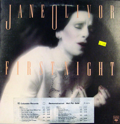 "Jane Olivor Vinyl 12"""