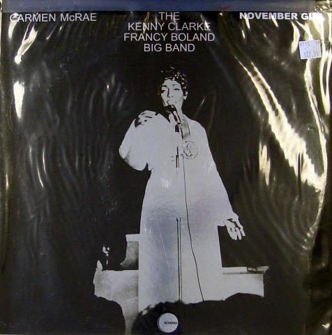 "Carmen McRae Vinyl 12"""