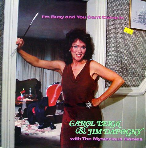 "Carol Leigh & Jim Dapogny With The Mysterious Babies Vinyl 12"""
