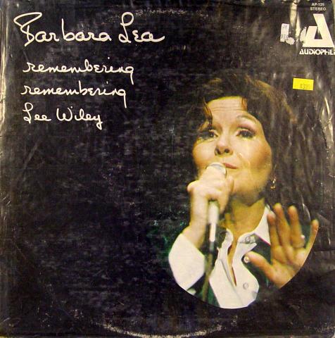 "Barbara Lea Vinyl 12"""