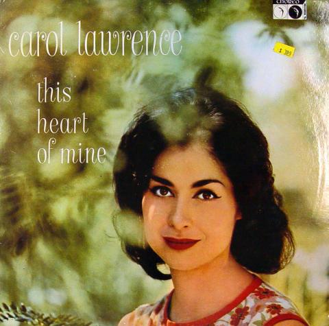 "Carol Lawrence Vinyl 12"""