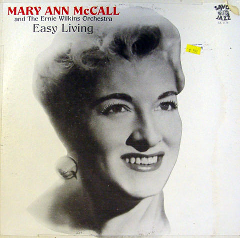 Mary Ann McCall / The Ernie Wilkins Orchestra Vinyl 12""