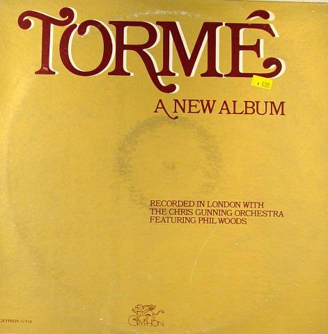 "Mel Torme / Phil Woods Vinyl 12"""
