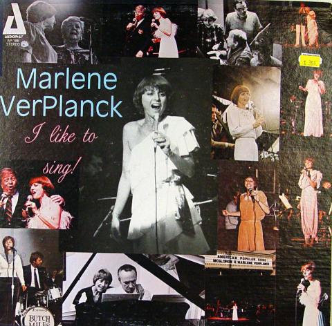 "Marlene VerPlanck Vinyl 12"""