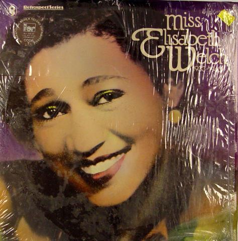 """Miss Elisabeth Welch Vinyl 12"""""""