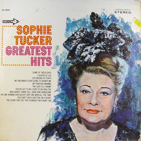 "Sophie Tucker Vinyl 12"""