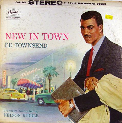 "Ed Townsend Vinyl 12"""