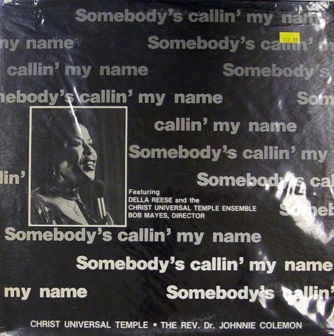 "Della Reese / Rev. Dr. Johnnie Coleman Vinyl 12"""