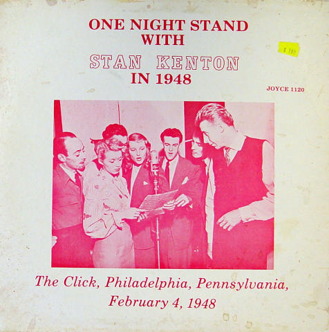 One Night Stand With Stan Kenton In 1948 Vinyl 12""