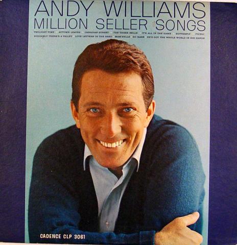 "Andy Williams Vinyl 12"""