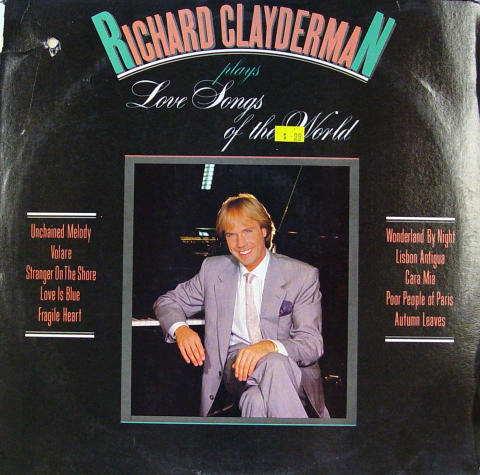 Richard Clayderman Vinyl 12""