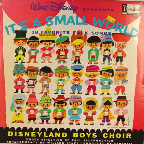 """Disneyland Boys Choir Vinyl 12"""""""