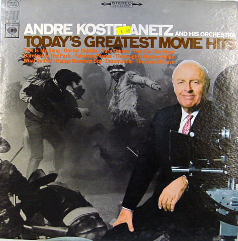 Andre Kostelanetz and His Orchestra Vinyl 12""