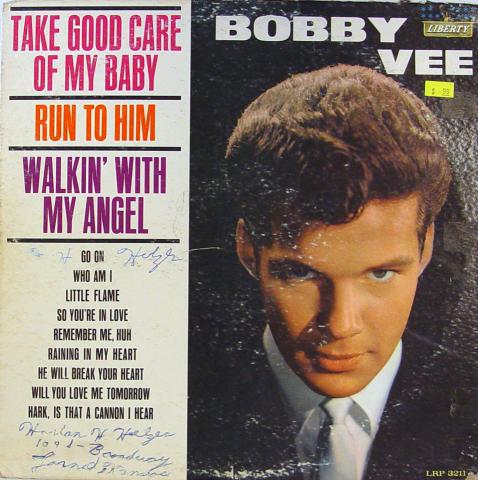 "Bobby Vee Vinyl 12"""