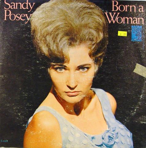 "Sandy Posey Vinyl 12"""