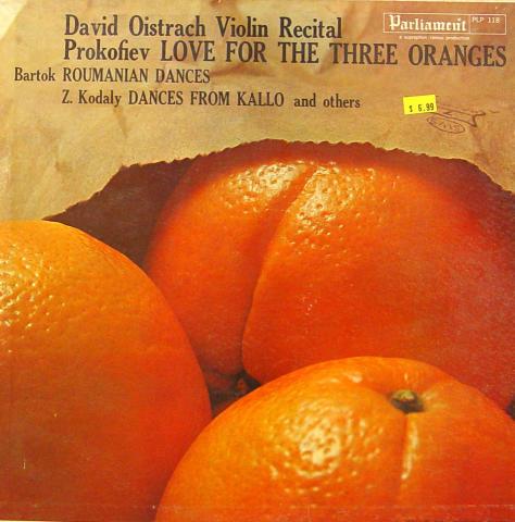 "David Oistrach Vinyl 12"""