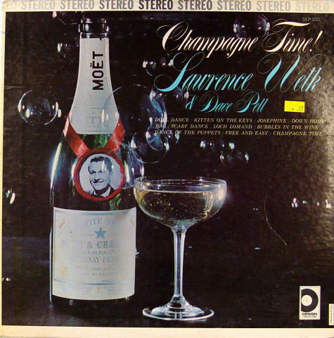 "Lawrence Welk & Dave Pett Vinyl 12"""