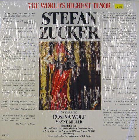 """Stefan Zucker Vinyl 12"""""""