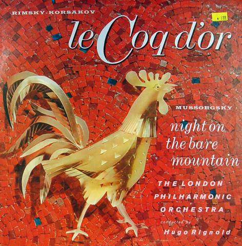 """Le Coq d'or Vinyl 12"""""""