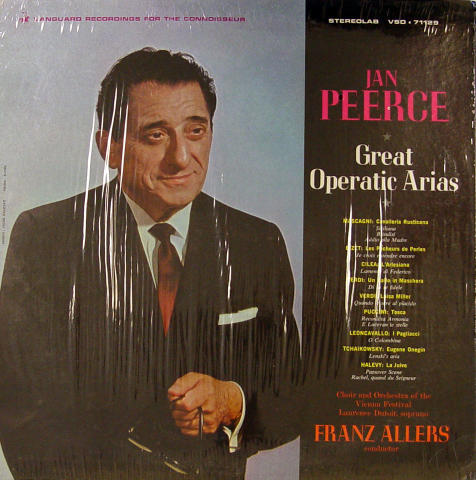 Jan Peerce Vinyl 12""