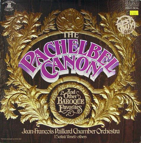 "Jean-Francois Paillard Chamber Orchestra Vinyl 12"""