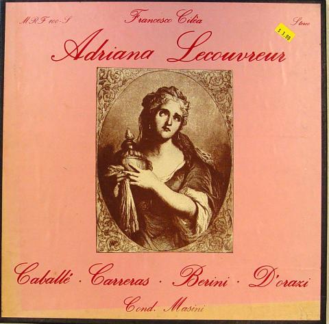 """Adriana Lecouvreur Vinyl 12"""""""
