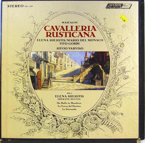"""Cavalleria Rusticana Vinyl 12"""""""