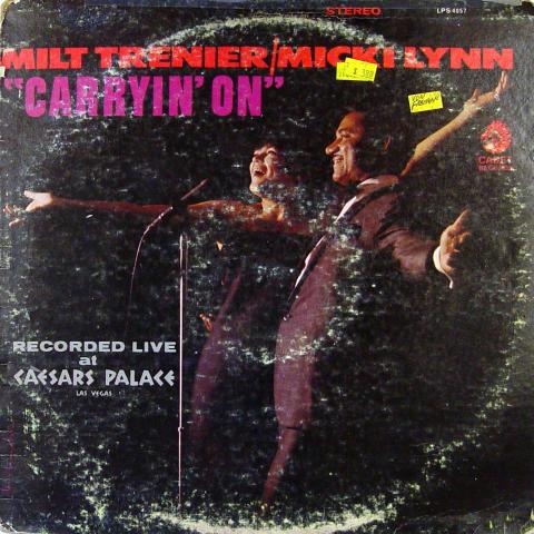 """Milt Trenier Vinyl 12"""""""
